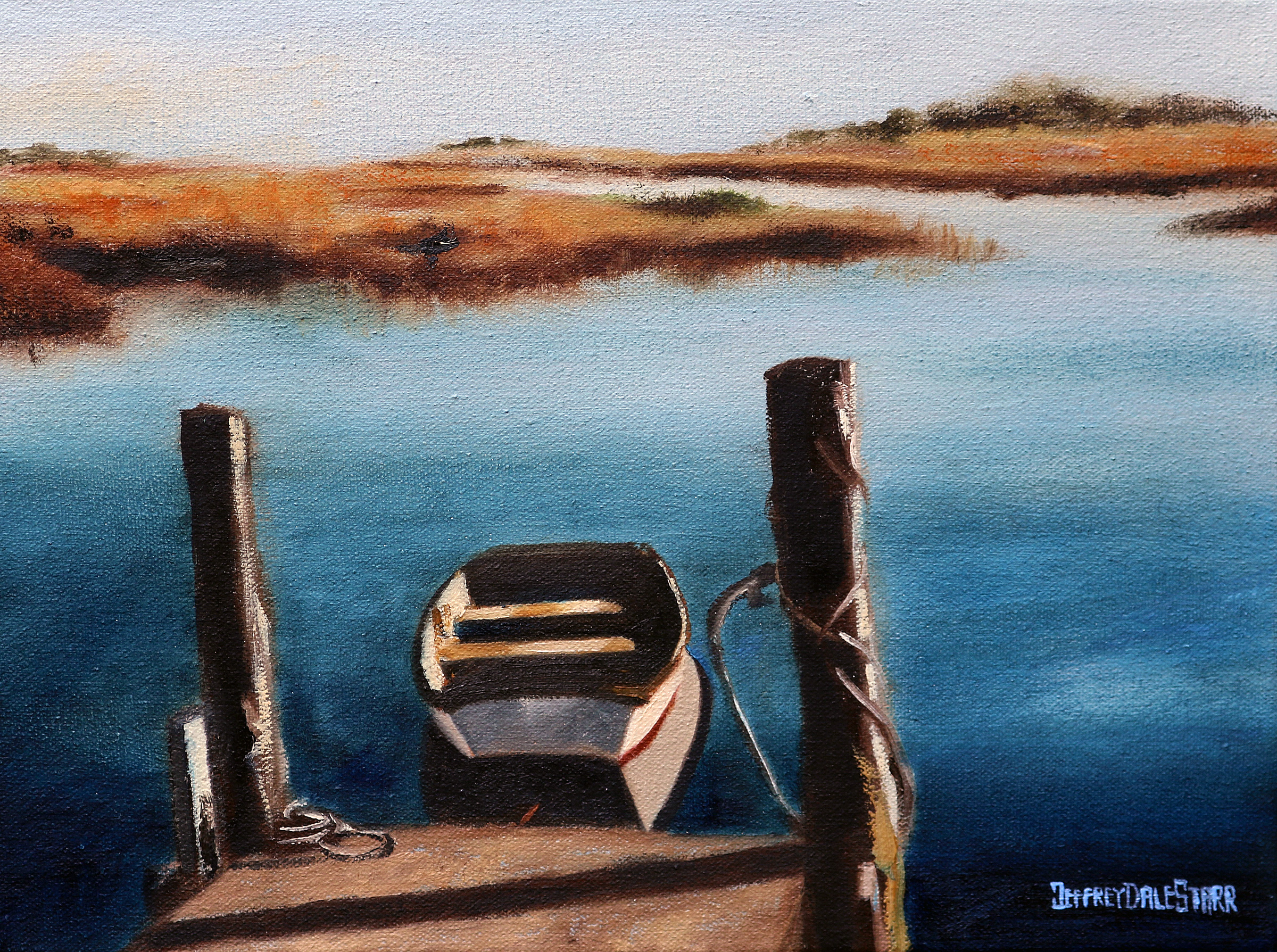 The Lonely Little Boat by Jeffrey Dale Starr