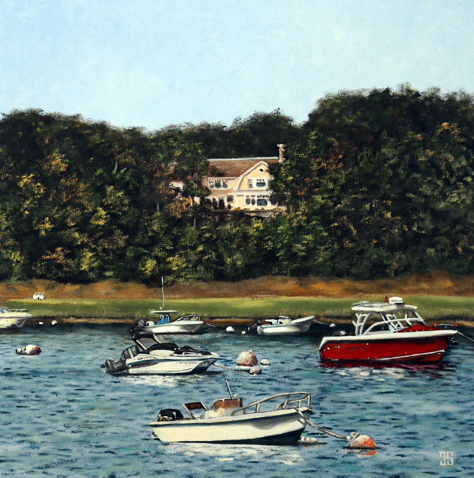 A Cove in Chatham by Jeffrey Dale Starr