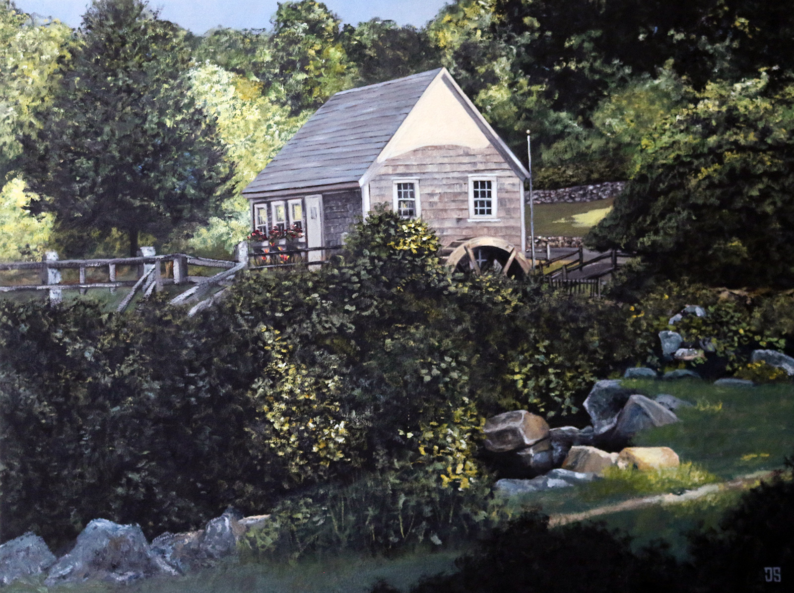Stony Brook Grist Mill, Brewster by Jeffrey Dale Starr