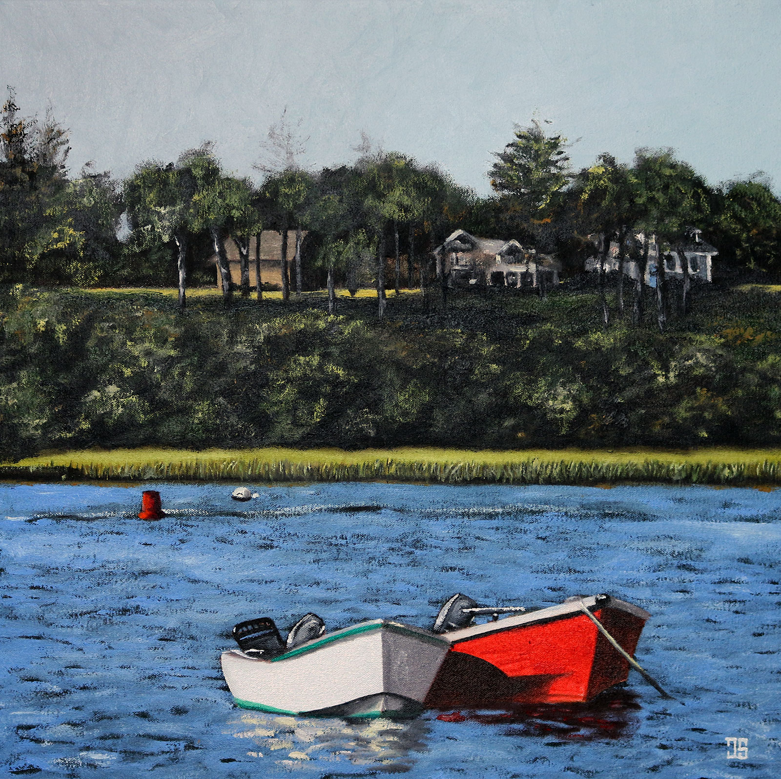 Two Boats in Chatham by Jeffrey Dale Starr