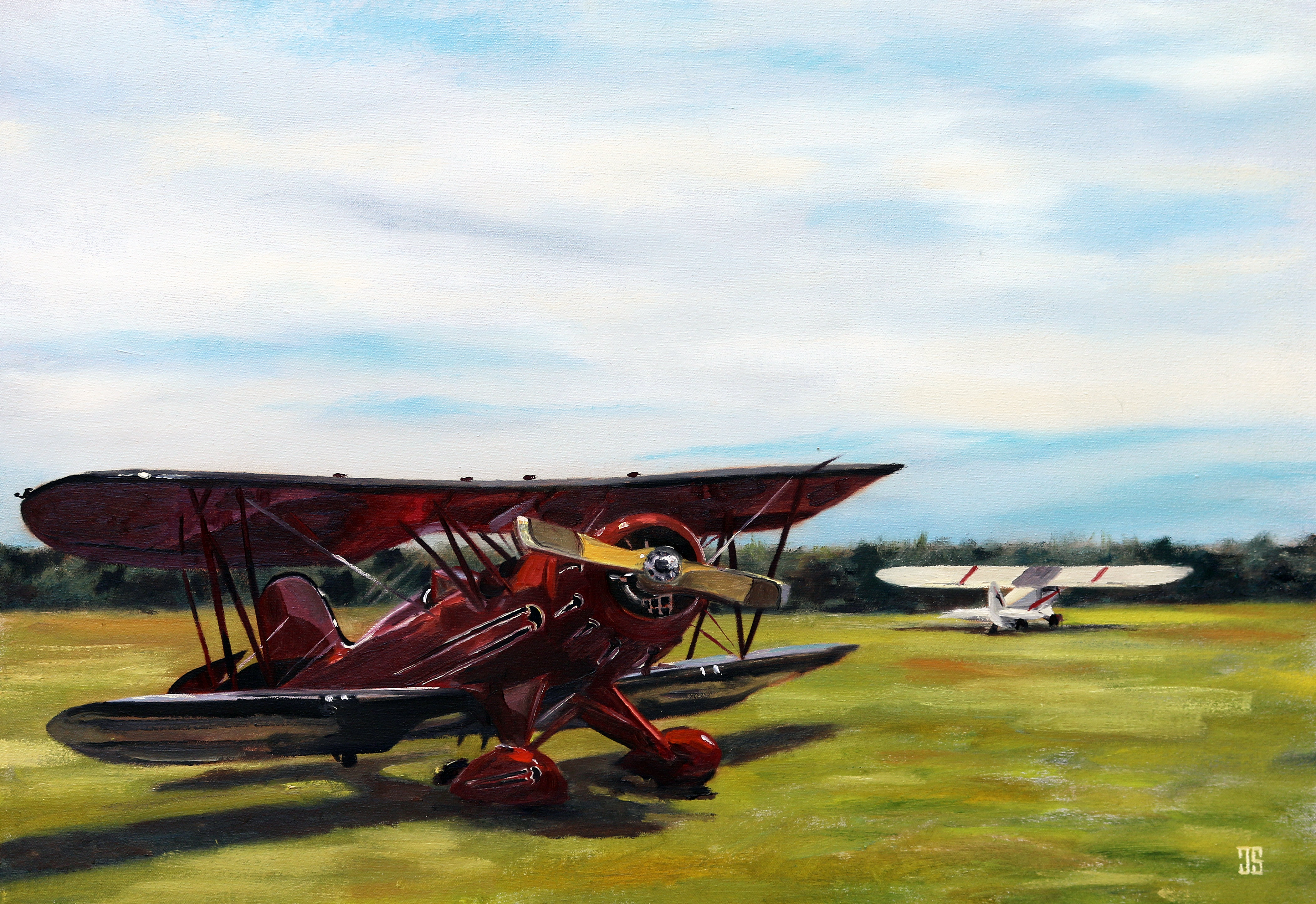 Cape Cod Airfield by Jeffrey Dale Starr